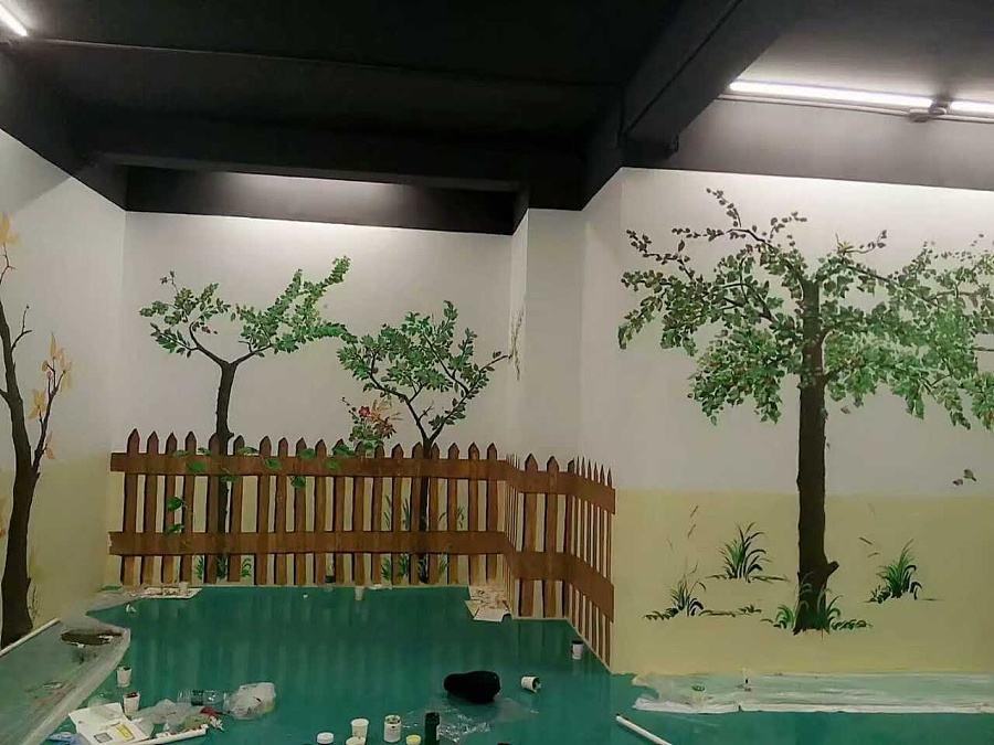 墙绘能保持多长时间,怎么打理?