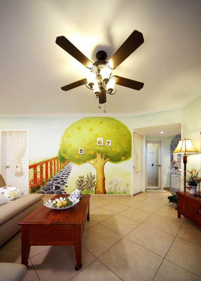 手绘墙画既然是艺术的演绎方式