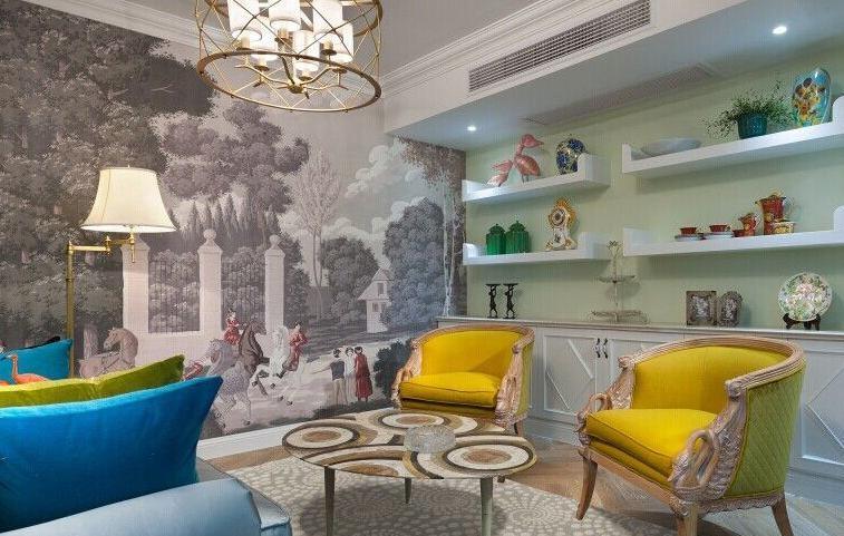 家居墙绘图案的创作与设计思维?