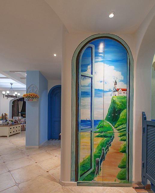壁画、室内外墙体彩绘艺术