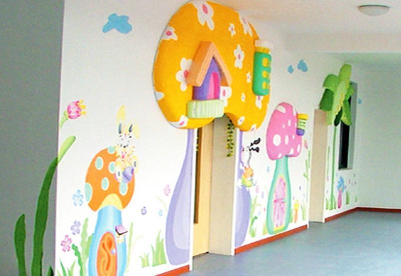 根据幼儿园的风格,设计了相应的主题