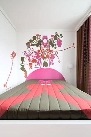 怎样墙绘家里各个空间