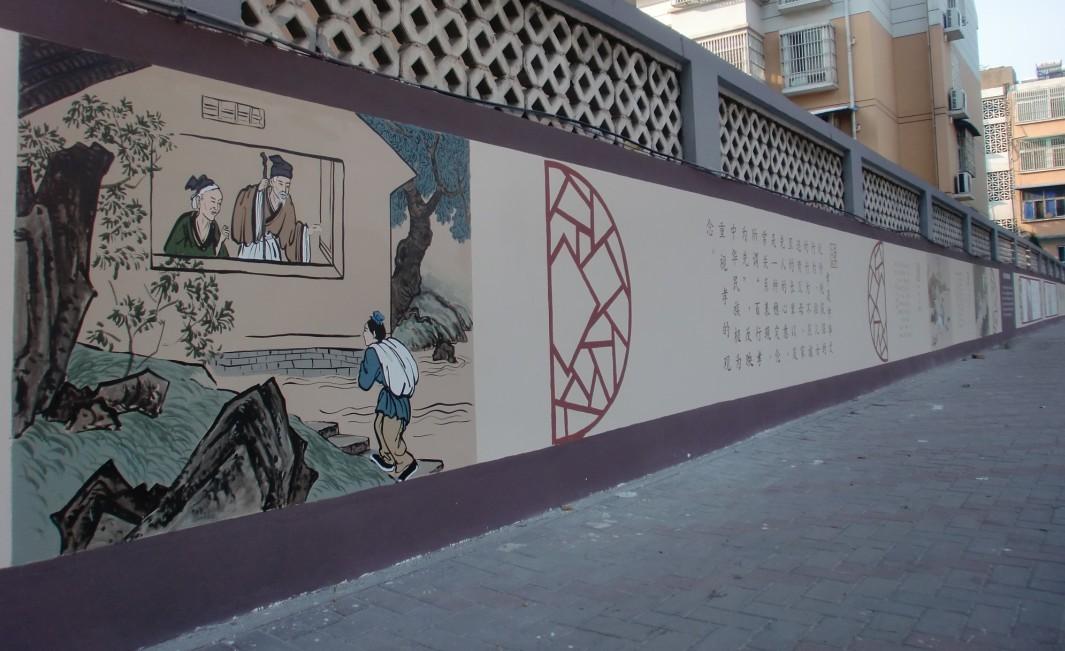 社区新农村文化墙的作用