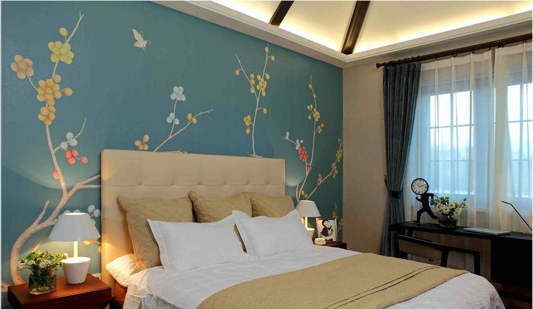 墙体彩绘相比备壁纸、液体壁纸的优势