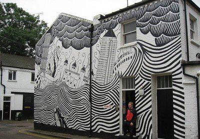 手绘墙画用什么颜料?会不会有毒有气味