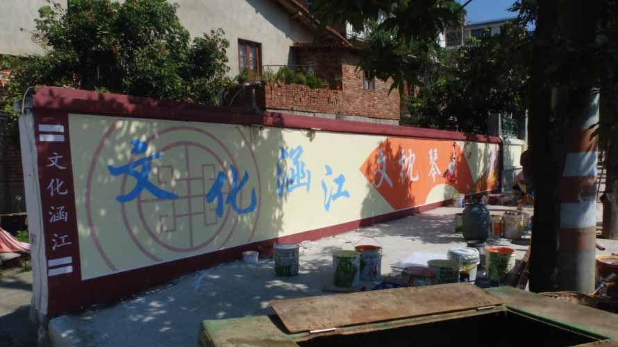 喷绘墙体多少钱